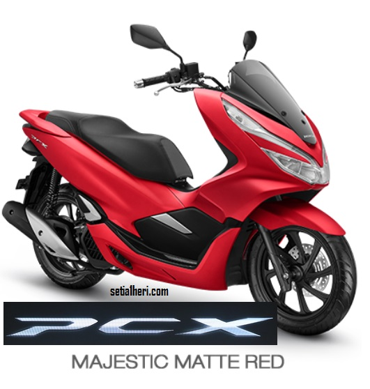 4 Pilihan Warna Honda PCX 150 Indonesia tahun 2018