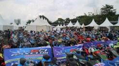 Kemeriahan pesta Suzuki Bike Meet – Jamboree Nasional 2018 bersama Andrea Iannone dan Alex Rins (1)