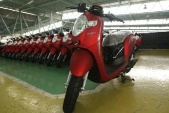 Pilihan warna dan stripping baru New Honda Scoopy tahun 2018 (3)