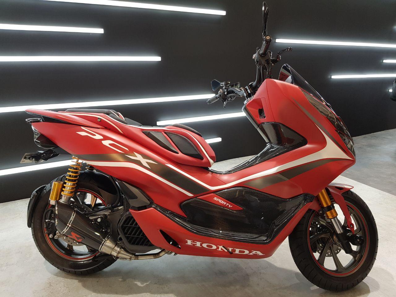Ragam Modifikasi Honda PCX 150 Indonesia tahun 2018 (2)
