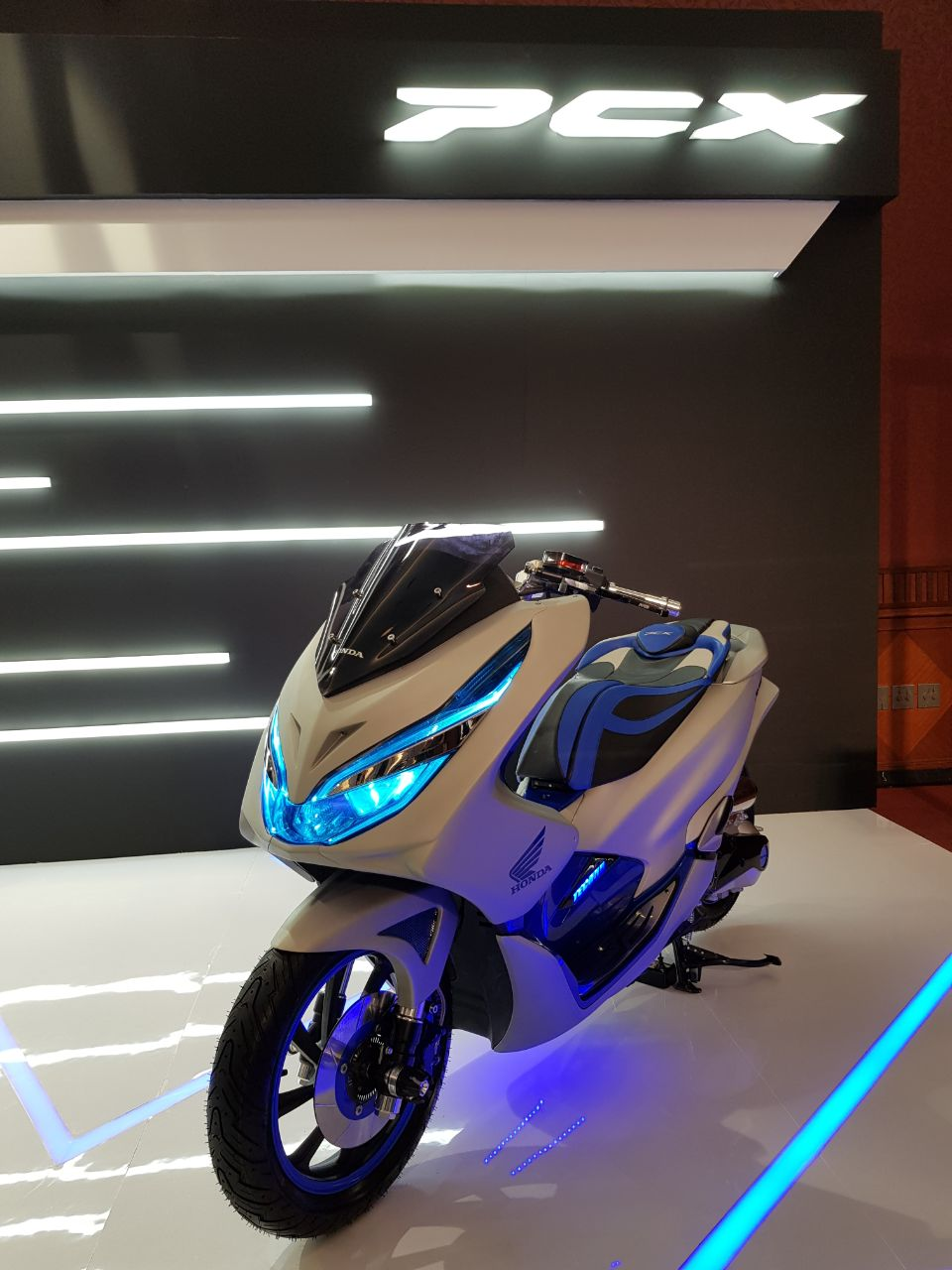 Ragam Modifikasi Honda PCX 150 Indonesia tahun 2018 (4)