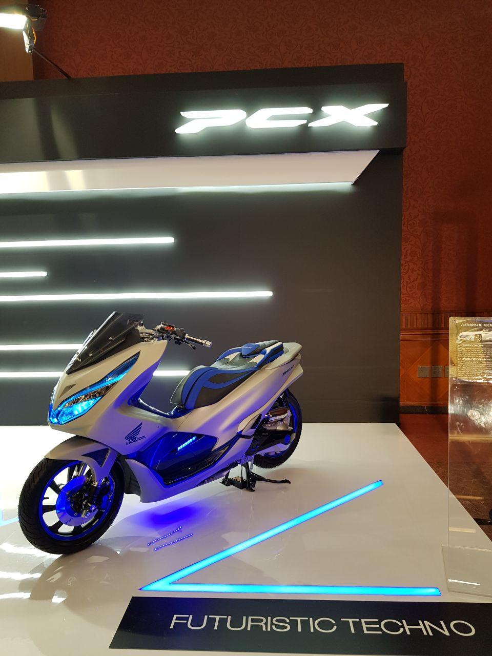 Ragam Modifikasi Honda PCX 150 Indonesia tahun 2018 (8)
