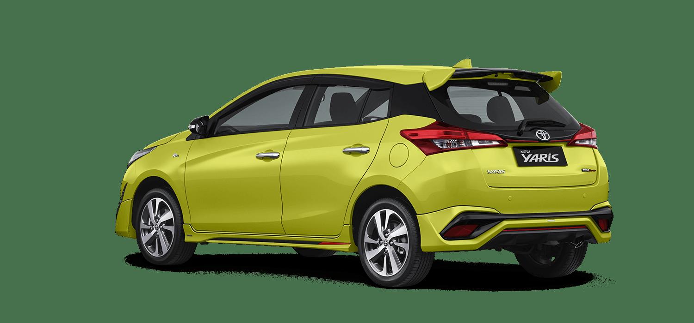 Tampilan Dan Pilihan Warna Mobil Toyota New Yaris Tahun 2018