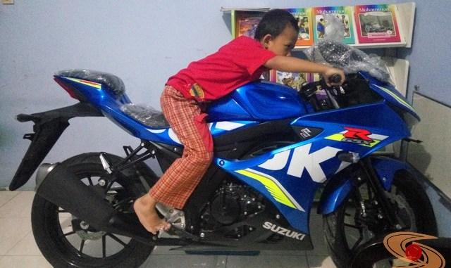 Alasan jatuh cinta pada Suzuki GSX R150, Ini jawabannya gansss....