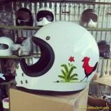 Kumpulan gambar modifikasi livery Mangkok lukisan Ayam Jago di dunia otomotif (5)