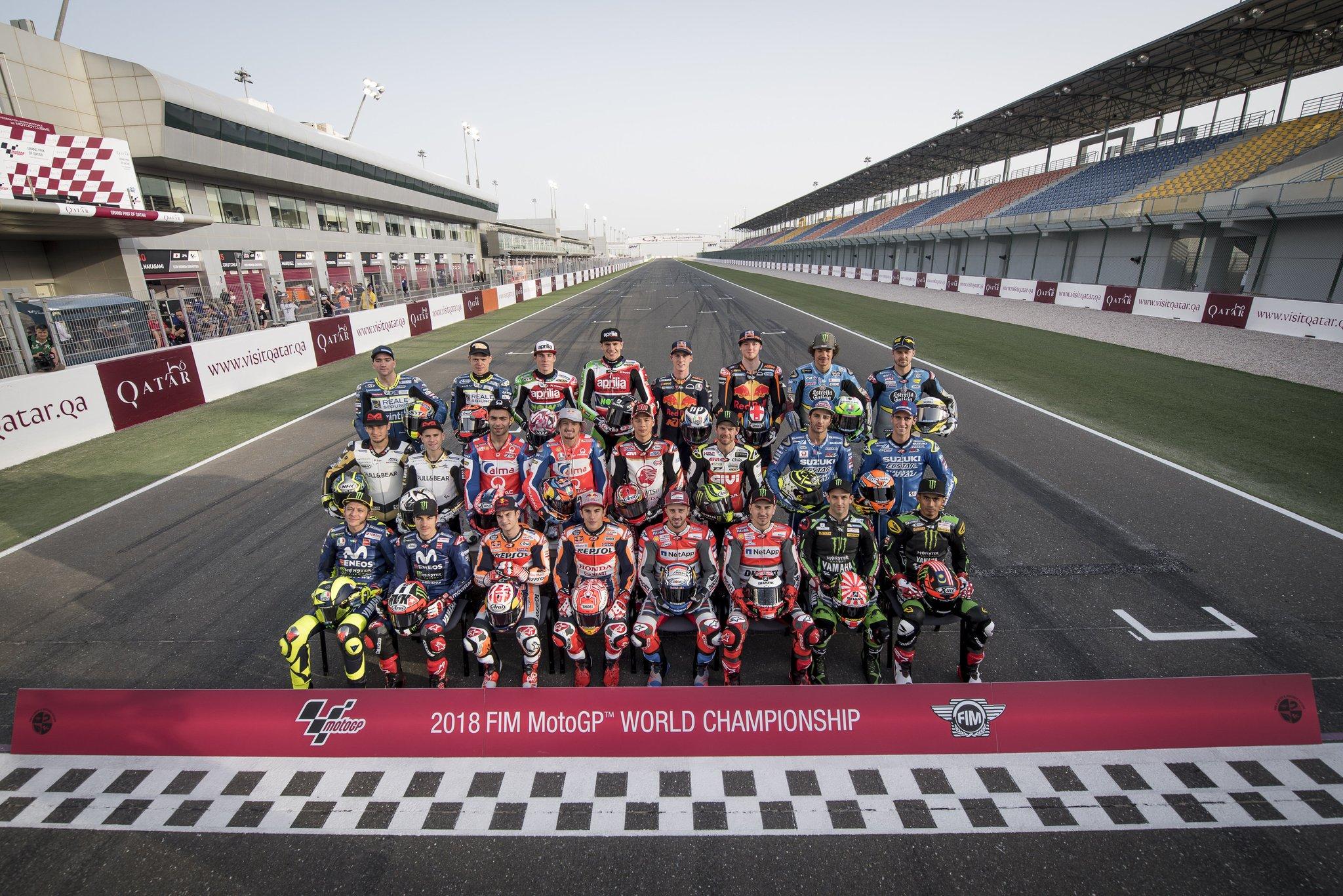 Nama-nama julukan pembalap moto GP tahun 2018