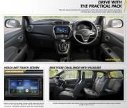 interior mobil datsun cross tahun 2018