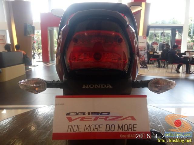 Harga Honda CB150 Verza di Kota Surabaya tahun 2018 (4)