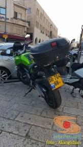 Kumpulan foto motor di sekitar Al-Aqsa, Palestina 6