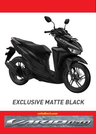 Pilihan warna Honda Vario 150 tahun 2018