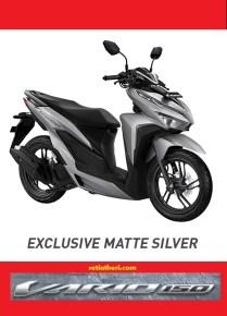 Pilihan warna silver Honda Vario 150 tahun 2018