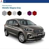 pilihan warna mobil terbaru Ertiga tahun 2018~02