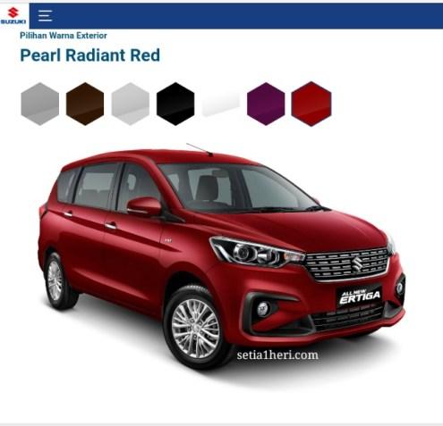 pilihan warna mobil terbaru Ertiga tahun 2018~06