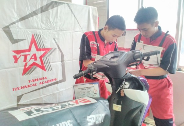 Pendaftaran kursus Mekanik Yamaha YES di Kota Surabaya tahun 2018