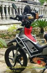 Ini Kumpulan gambar modifikasi Honda Supra X 125 pakai tubular