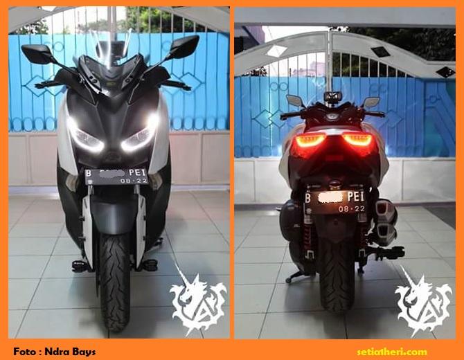Pengalaman rider Yamaha Xmax pakai busi brisk premium, veloscope dan filter ferrox