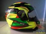 Review Helm KYT K2 Rider Super FLuo tahun 2018 (1)
