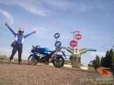 Serunya blogger setia1heri manasin mesin Suzuki GSX R 150 alias si 3C0 buat sungkem emak di Tuban (13)