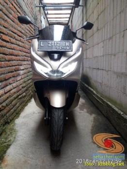 blogger setia1heri Ngincipi Honda PCX Indonesia wira-wiri Gresik-Surabaya tahun 2018 (12)