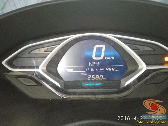 Cara setting jam pada Honda PCX Indonesia bagi pemula.