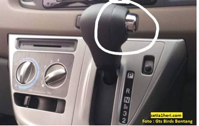 Bagi pemula, Inilah fungsi tombol pada persneleng mobil Calya Matic