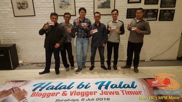 Keseruan Halal Bihalal Blogger dan Vlogger bersama Honda di Jawa Timur tahun 2018 (2)