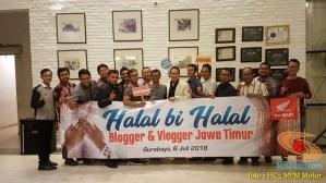 Keseruan Halal Bihalal Blogger dan Vlogger bersama Honda di Jawa Timur tahun 2018 (9)