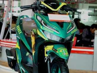 Lelang Honda Vario 150 tahun 2018 livery Bonek Persebaya~03