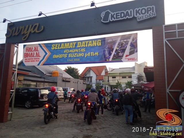 Meriahnya Halal Bihalal Biker Suzuki Jawa Timur dan Nobar Moto GP Assen 2018 (8)