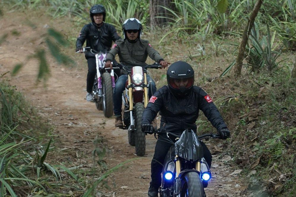 Modifikasi pada trail Honda CRF150L