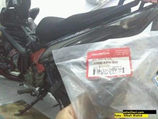 Plus minus pakai koil Honda Karisma/Supra di Yamaha New Jupiter MX 135 brosis
