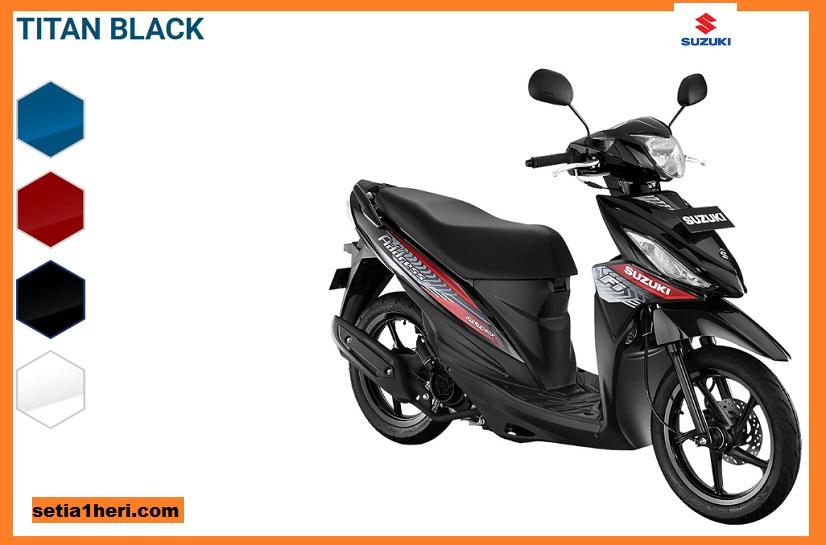 harga motor Suzuki Address FI Tahun 2018