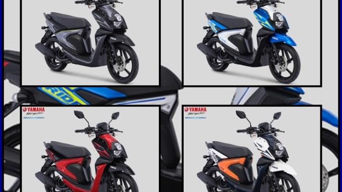 Yamaha X Ride 125 Tahun 2018 Warna Dan Grafis Baru Serta