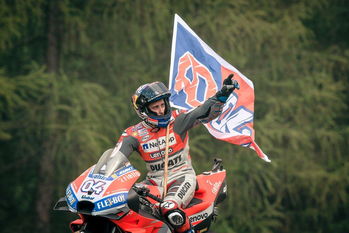 Desmo dovi juara pertamax pada GP Czech tahun 2018