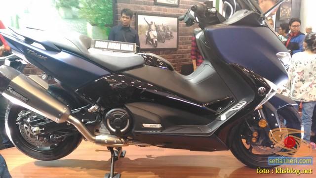 Mengintip Yamaha TMAX DX tahun 2018, dibanderol 299,9 jeti OTR Jakarta gans