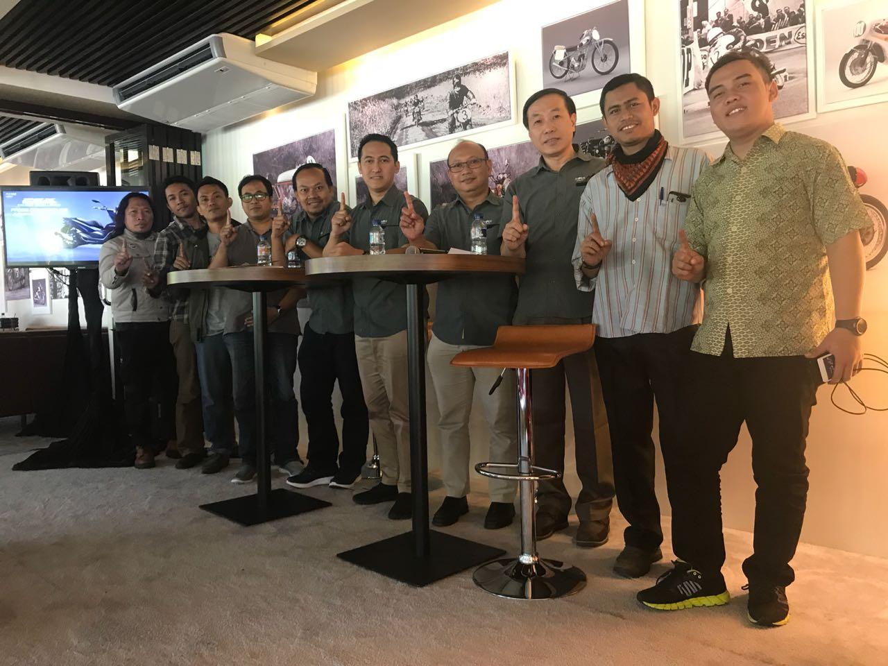blogger jawa timur dan petinggi MPM Honda Jawa TImur