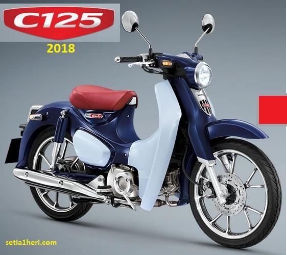 Honda Super Cub C125 reborn tahun 2018