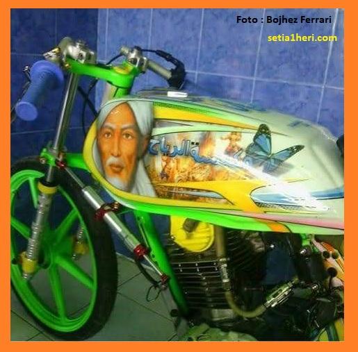 Sejarah dan kisah motor legendaris dragbike, Honda GL Sapu Angin Barbara Jawa Timur
