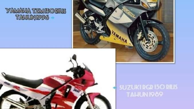 4 Motor Sport Legendaris Kelas 150 Cc Indonesia Era Tahun 80an dan 90an