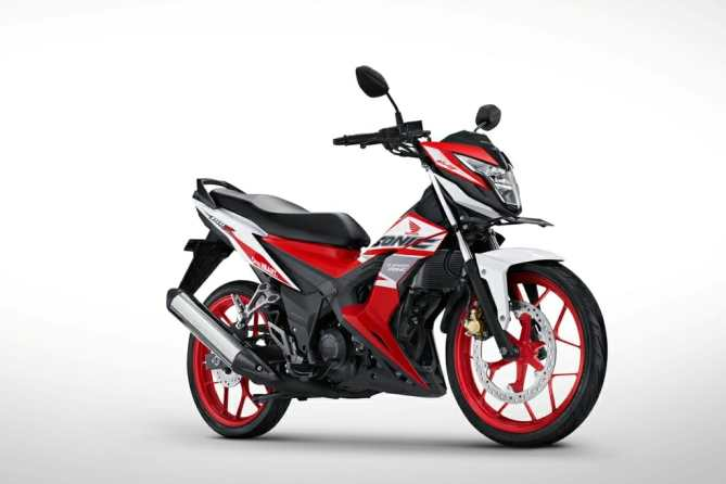 Stripping baru New Honda Sonic 150R tahun 2018
