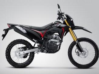 Warna Baru trail Honda CRF150L tahun 2018, ada versi hitam brosis