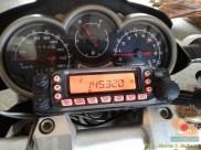 Radio HT di motor Yamaha Scorpio modif turing