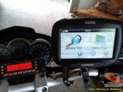 GPS waterproof untuk turing motor