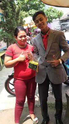 Nunggang Honda Verza, pemuda ganteng jas parlente penjual tahu asal Bogor ini pikat gadis hingga emak-emak gans (9)
