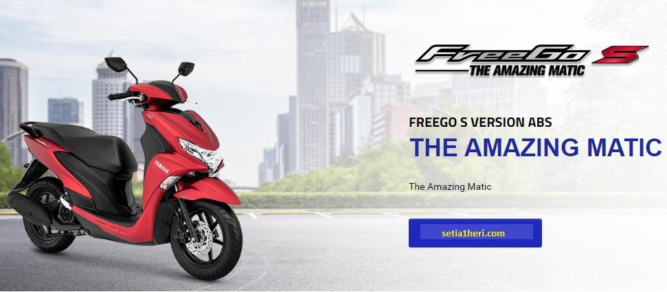 yamaha freego s tipe ABS tahun 2018