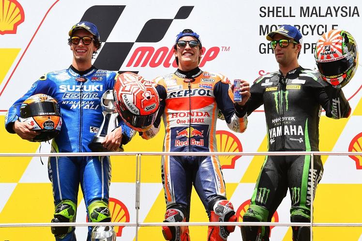 Download Video Full Race Moto GP Malaysia 2018 : Mbah Rossi kepleset, Marquez sabet podium pertamax