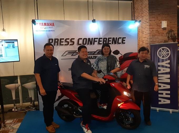 Daftar Harga Yamaha FreeGo di Kota Surabaya tahun 2018