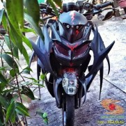 Kumpulan gambar modifikasi motor aliran body tumpuk (botum) alias monster atau fighter (11)