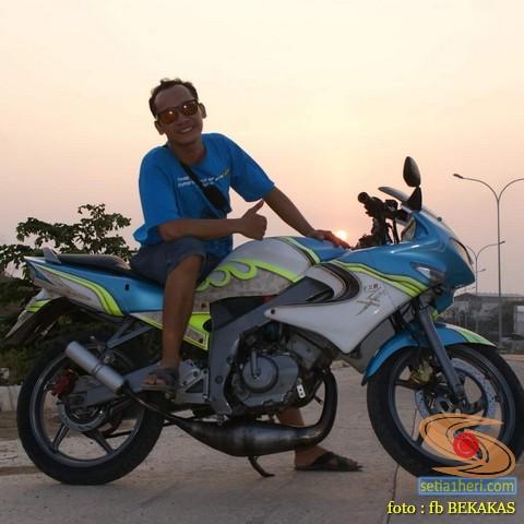 masalah motor lawas suzuki fxr 150