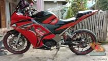 Modifikasi Honda Supra Fit full fairing kayak motor sport brosis (1)
